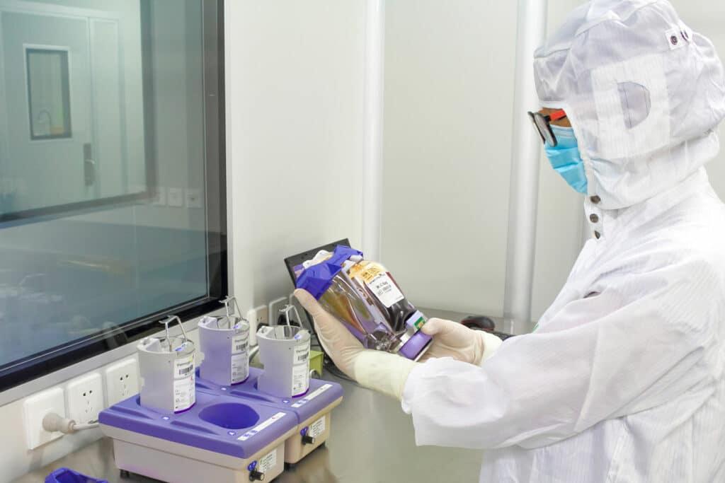 Technika testowania pakietu komórek macierzystych w laboratorium Beike