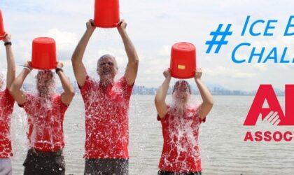 Pracownicy Beike Biotechnology biorący udział w wyzwaniu ALS Ice Bucket Challenge